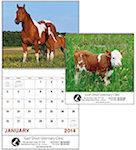Baby Farm Animals Spiral Wall Calendars